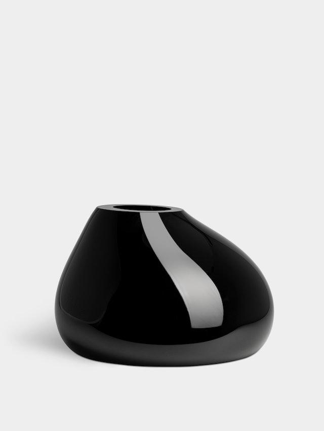Ebon vas svart h 240 mm